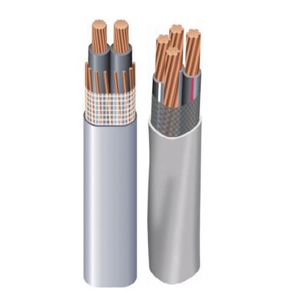 Picture of Southwire SEU Series 4/4/4CX150 Service Entrance Cable, 3-Conductor, Copper Conductor, PVC Insulation, Gray Sheath