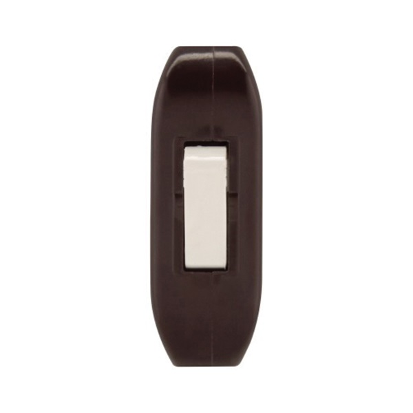 Picture of Eaton Wiring Devices 933 Series 933B-BOX Switch, 3 A, 120 V, Screw Terminal, Brown