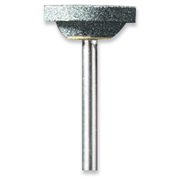 Picture of DREMEL 85422 Grinding Stone, 25/32 in Dia, 1/8 in Arbor/Shank, Silicone Carbide Abrasive