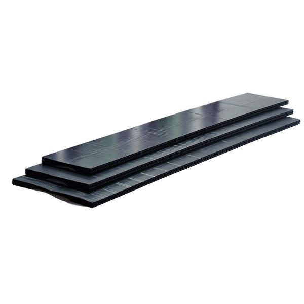 Picture of Quarrix 59092 Ridge Vent, 4 ft L, 11-1/4 in W, HDPE, Black