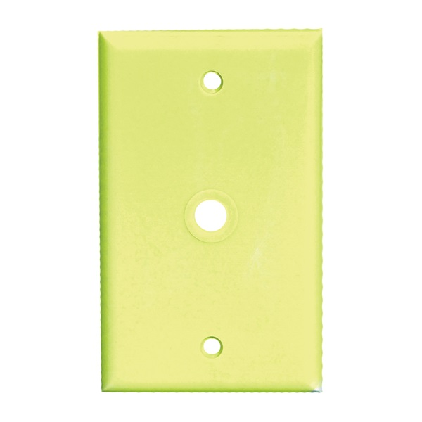 Picture of Eaton Wiring Devices 2128 Series 2128V-BOX Wallplate, 4-1/2 in L, 2-3/4 in W, 1-Gang, Thermoset, Ivory