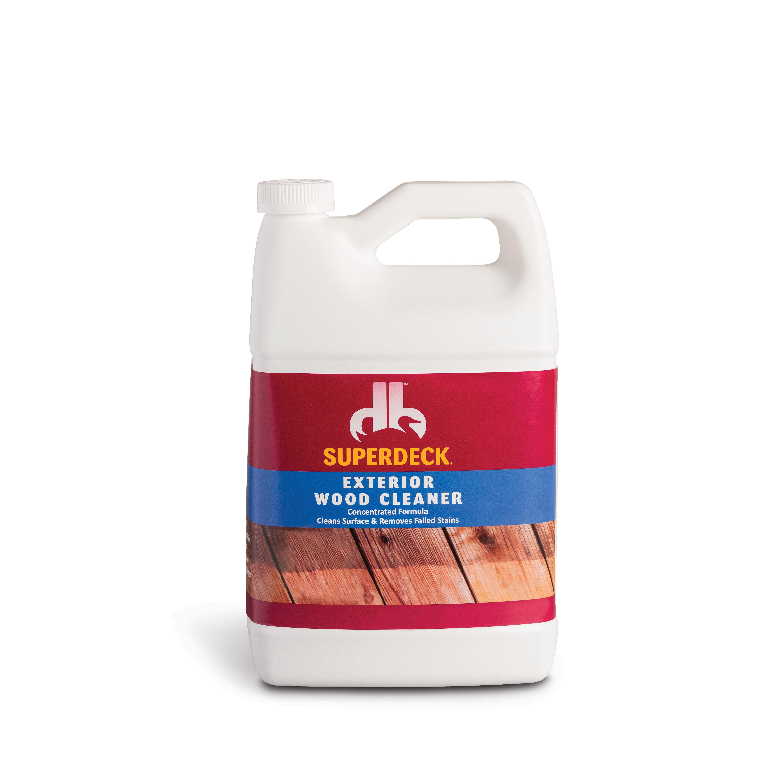 Picture of Duckback SUPERDECK DB0014404-16 Wood Cleaner, Liquid, Light Blue, 1 gal, Bottle