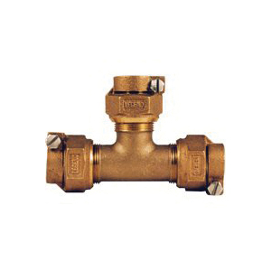 Picture of Legend T-4442NL 313-390NL Pipe Tee, 3/4 in, Pack Joint, Bronze, 100 psi Pressure