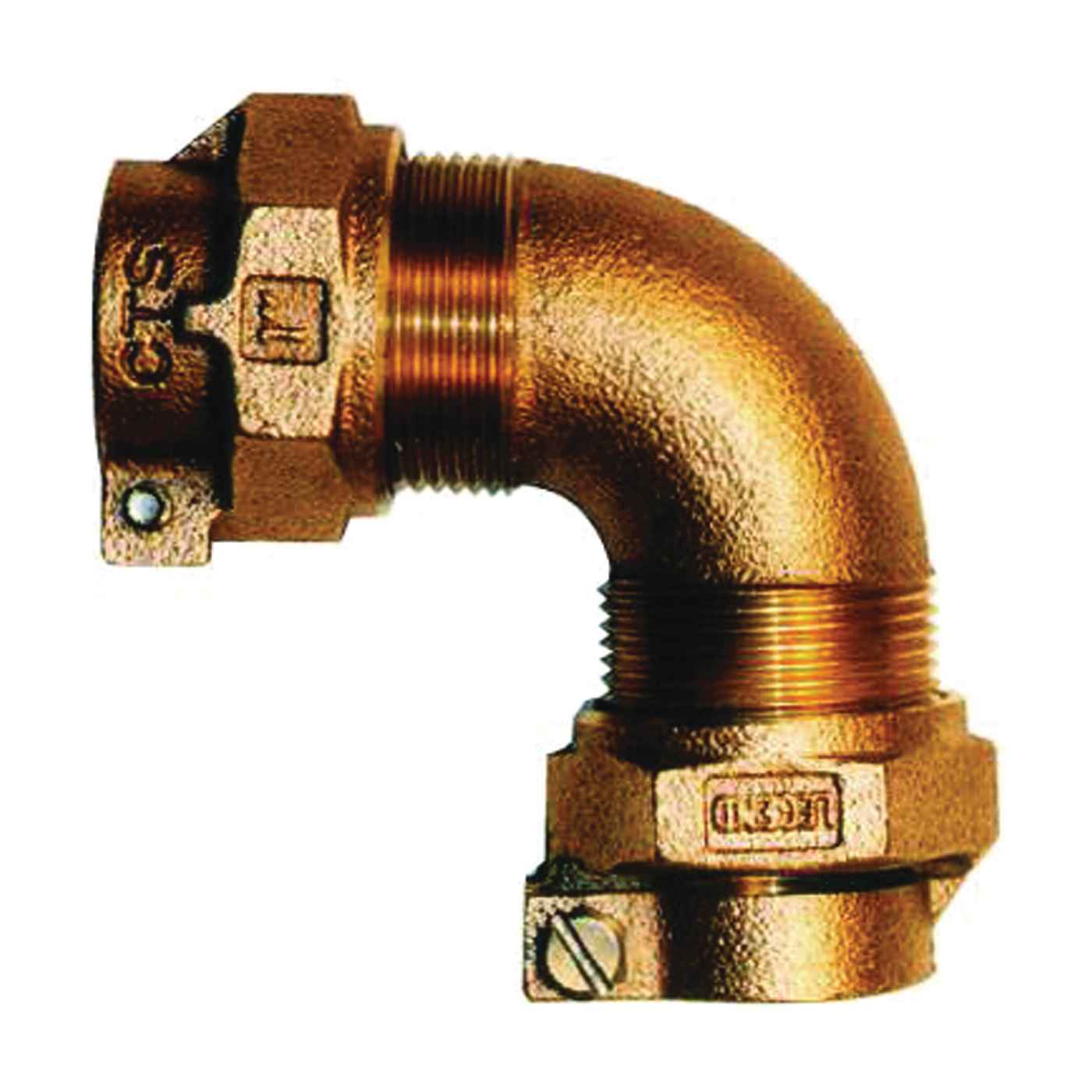 Picture of Legend T-4411NL 313-334NL Pipe Elbow, 3/4 in, Pack Joint, 90 deg Angle, Bronze, 100 psi Pressure