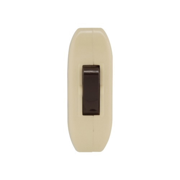 Picture of Eaton Wiring Devices 933 Series 933V-BOX Switch, 3 A, 120 V, Screw Terminal, Ivory