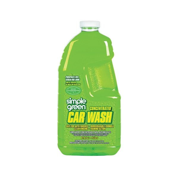 Picture of Simple Green 0210000643210 Car Wash, 67.6 oz Package, Liquid, Chamomile