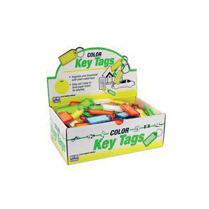 Picture of HY-KO KB140-100 Key Identification Tag, Plastic