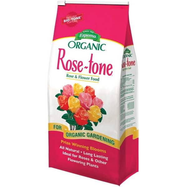 Picture of ESPOMA Rose-Tone RT4 Plant Food, Granular, 4 lb Package, Bag