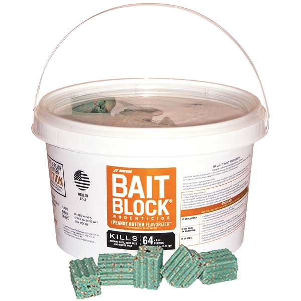 Picture of J.T. EATON 704-PN Bait Block, Solid, 1 oz Package, Pail