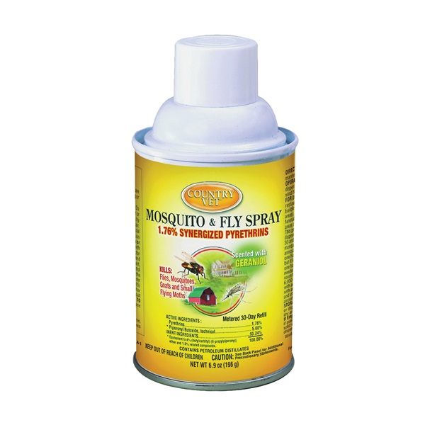 Picture of Enforcer 342033CVA Mosquito and Fly Spray, Liquid, Clear, Characteristic, 6.9 oz Package, Aerosol Can