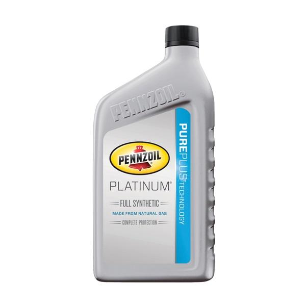 Picture of Pennzoil Platinum 550022686/5063684 Motor Oil, 5W-20, 1 qt Package, Bottle