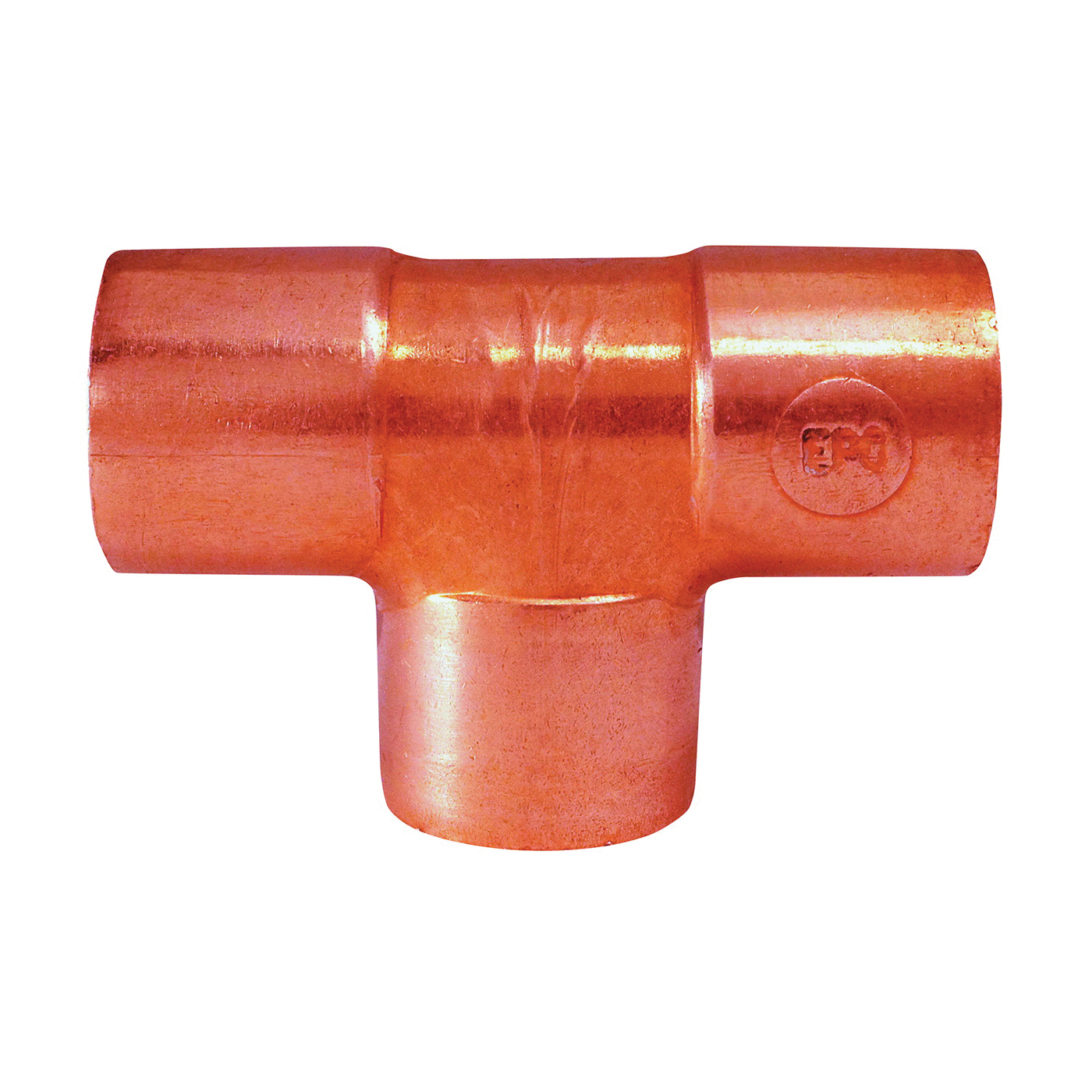Picture of EPC 80009 Pipe Tee, 1/2 in, Sweat, Copper