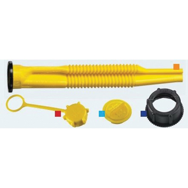 Picture of Scepter 03647 Replacement Spout Kit, Polyethylene, Black/Yellow