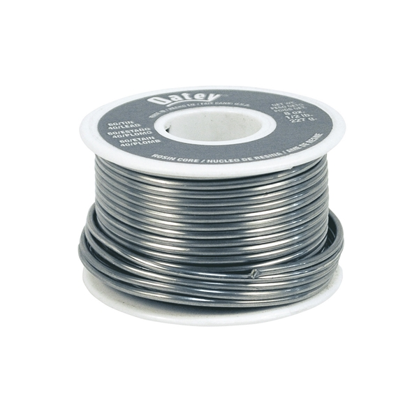 Picture of Oatey 50194 Rosin Core Solder, 1/2 lb Package, Solid, Silver, 361 to 375 deg F Melting Point