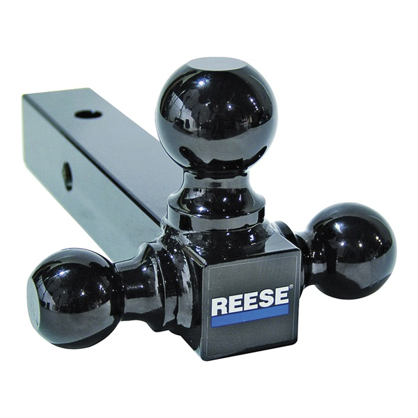 Picture of REESE TOWPOWER 21512 Tri-Ball Mount Bar, 1-7/8, 2, 2-5/16 in Dia Hitch Ball, Steel, Powder-Coated