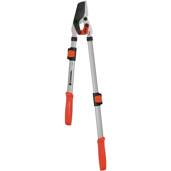 Picture of CORONA CLIPPER SL 4364 Extendable Bypass Lopper, 1-3/4 in Cutting Capacity, Coated Non Stick Blade, Steel Blade