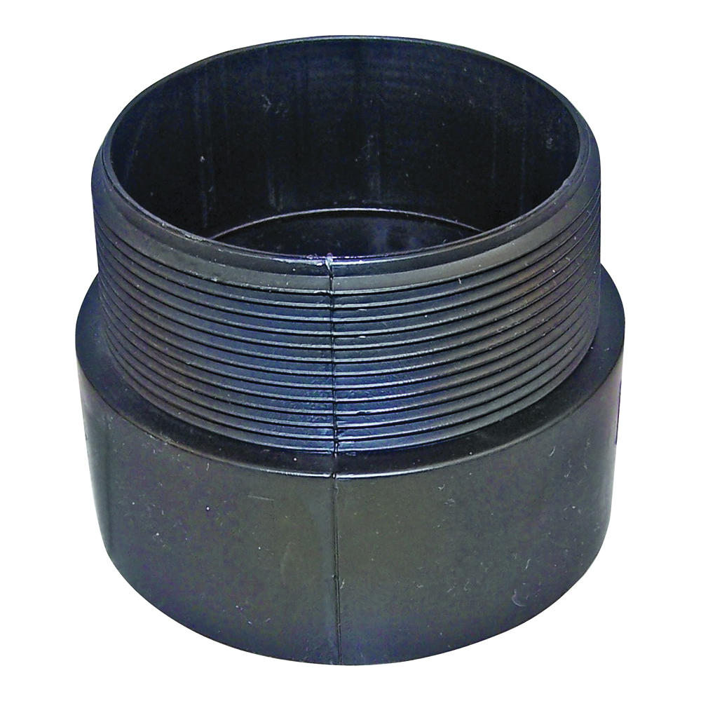 Picture of GENOVA 800 80420 Pipe Adapter, 2 in, Hub x MIP, ABS, SCH 40 Schedule