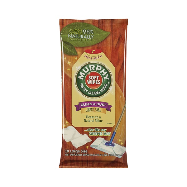 Picture of MURPHY OIL SOAP 125902 Cleaner Wipes