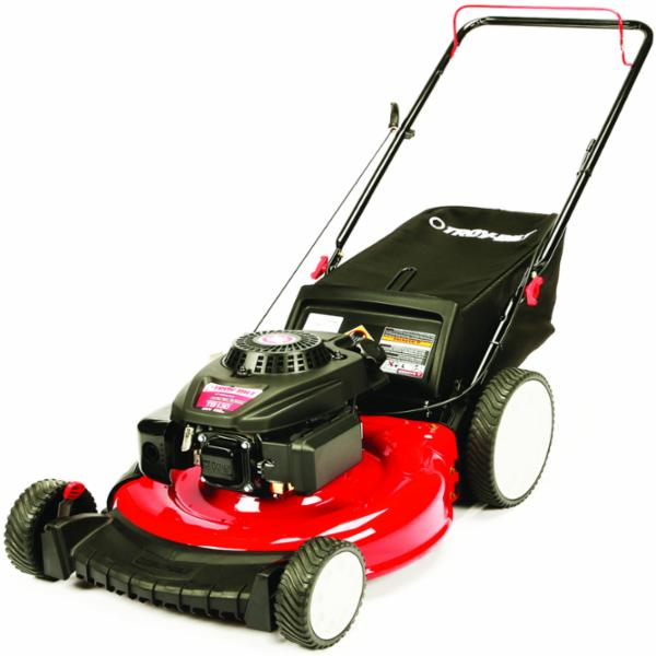 Picture of Troy-Bilt 11A-B2M5766 Lawn Mower, 159 cc Engine Displacement, Gasoline, 21 in W Cutting, Recoil Start