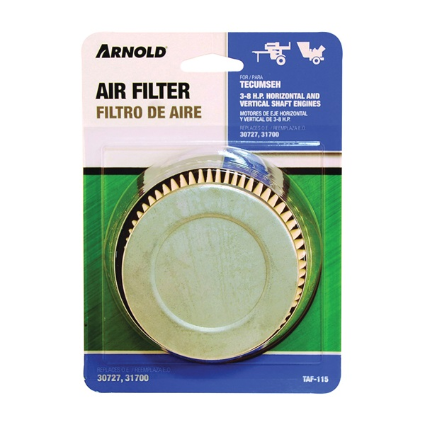 Picture of ARNOLD TAF-115 Replacement Air Filter, For: Tecumseh 3 to 8 hp Horizontal and Vertical Shaft Engines