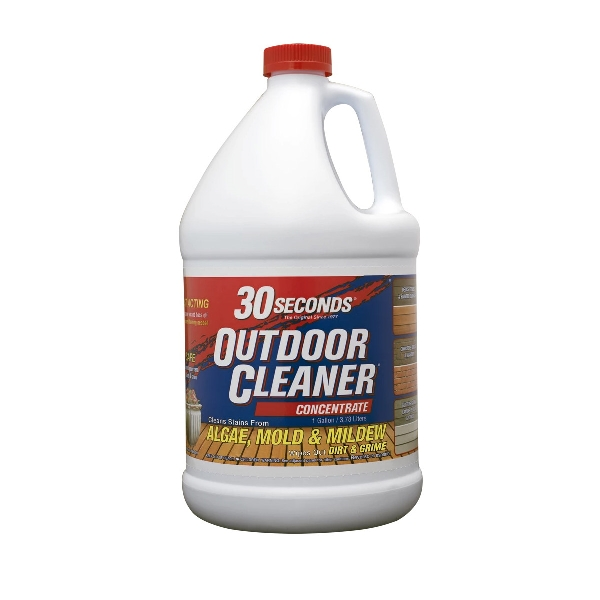 Picture of 30 SECONDS 1G30S Cleaner, 1 gal Package, Bottle, Liquid, Bleach, Light Yellow
