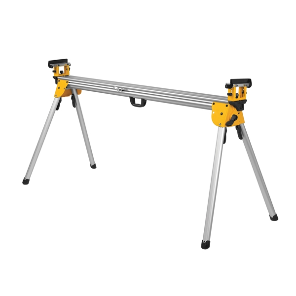 Picture of DeWALT DWX723 Miter Saw Stand, 500 lb, 151 in W Stand, 32 in H Stand, Aluminum, Black/Yellow