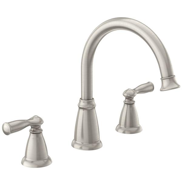Picture of Moen Banbury 86924SRS Tub Faucet, 2-Faucet Handle, Metal, Chrome