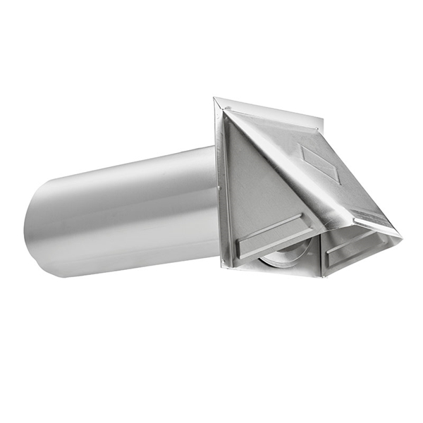 Picture of Lambro 344 Preferred Hood Vent, 6 in W Hood, 4.76 in H Hood, 4 in Duct, Aluminum Hood