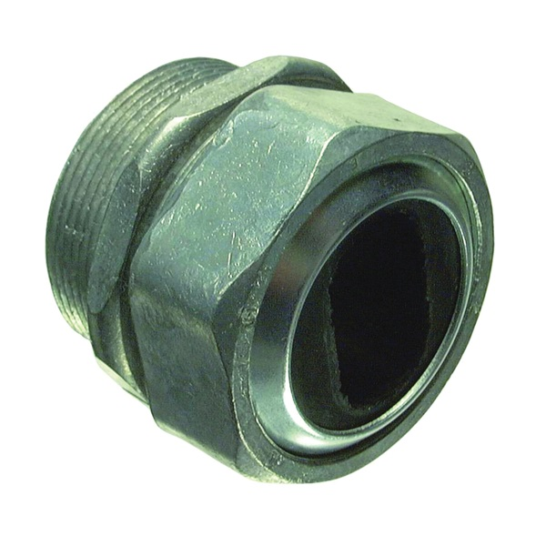 Picture of Halex 09215 Watertight Connector, 1-1/2 in Hub, Compression, Die-Cast Zinc