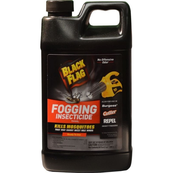 Picture of Black Flag 190256 Fogging Insecticide, 5000 sq-ft Coverage Area, Clear