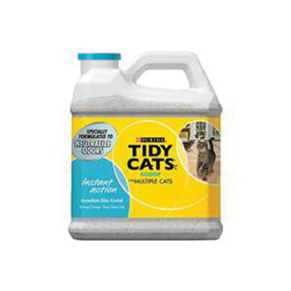 Picture of Tidy Cats Instant Action 7023011716 Cat Litter, 14 lb Capacity, Gray/Tan, Granular, Jug