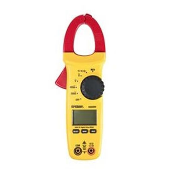 Picture of GB DSA500A Clamp Meter, LCD Display, Functions: AC Current, AC Voltage, Continuity, DC Voltage, Resistance