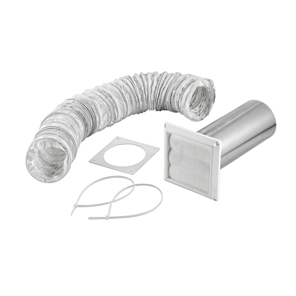 Picture of Lambro 264W Vent Kit, Louvered, 5-Piece, Box