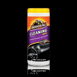 Picture of ARMOR ALL 10848 Cleaning Wipes, Leather, Alkyl Dimethyl Benzyl Ammonium Chloride (C12-16)/Monoethanolamine