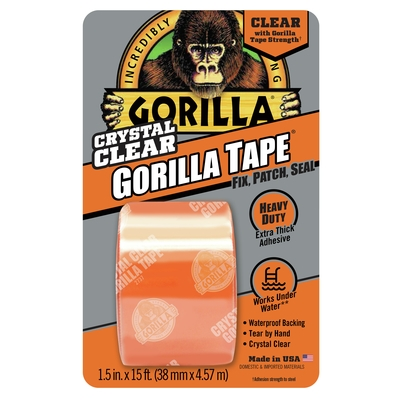 Picture of Gorilla 6015002 Tape, 5 yd L, 1-1/2 in W