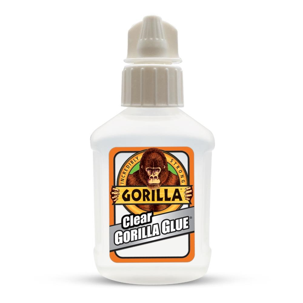 Picture of Gorilla 5201103 Glue, Clear Yellow, 0.75 oz Package, Bottle