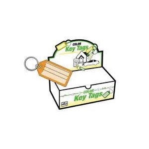 Picture of HY-KO KB143-100 Key Identification Tag, Plastic