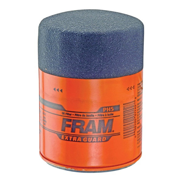 Picture of FRAM PH5 Full-Flow Lube Oil Filter, 13/16-16 Connection, Threaded, Cellulose, Synthetic Glass Filter Media