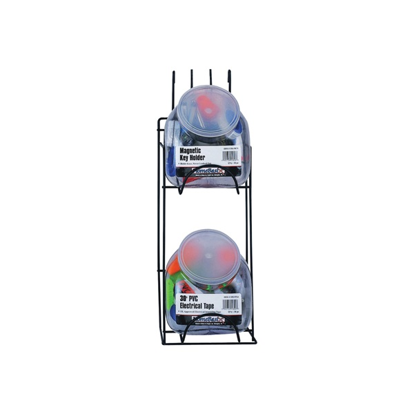 Picture of ProSource M59995 Display Rack, 16.54 in OAW, 16.54 in OAD, 36.61 in OAH, Metal