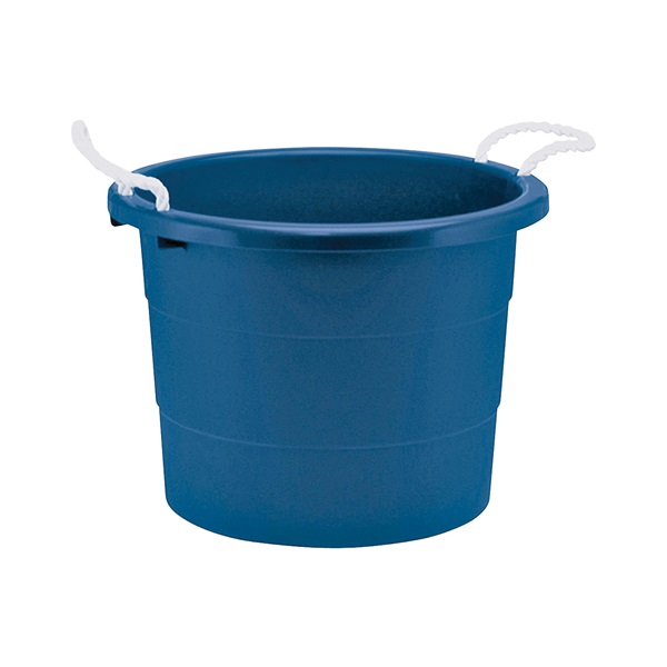 Picture of United Solutions TU0014 Utility Tub, 20 gal Capacity, Plastic, Blue