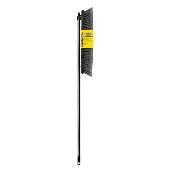 Picture of Simple Spaces 3024 Push Broom, 24 in L Trim, Fiber Bristle, Threaded