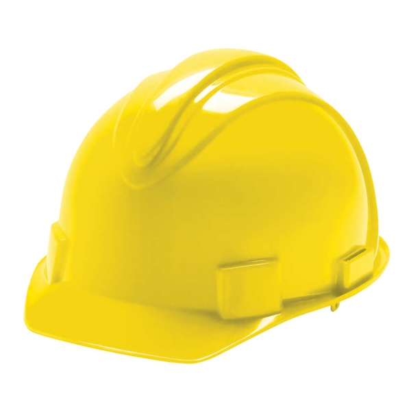 Picture of JACKSON SAFETY SAFETY 3013370 Hard Hat, 11 x 9-1/2 x 8-1/2 in, 4-Point Suspension, HDPE Shell, Yellow