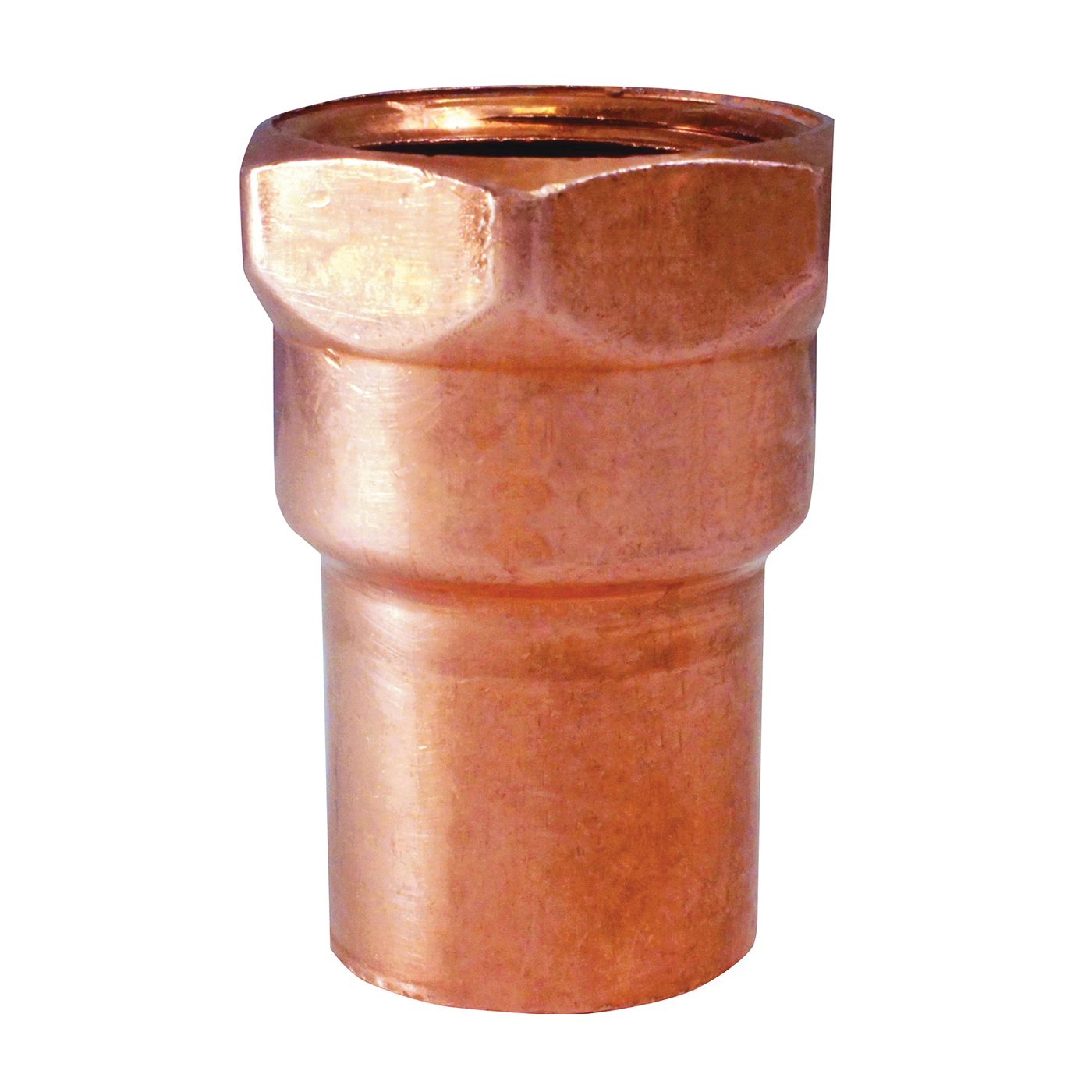 Picture of EPC 103 Series 30160 Pipe Adapter, 1 in, Sweat x FNPT, Copper