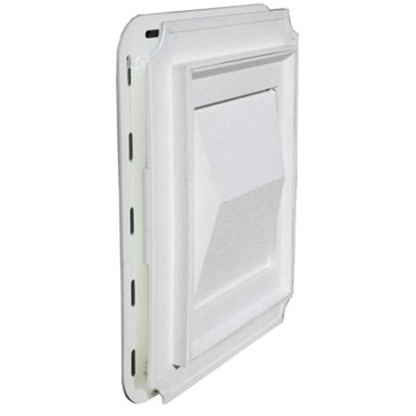 Picture of BUILDER'S BEST 111716 Vent Hood Faceplate, Plastic, White, Woodgrain