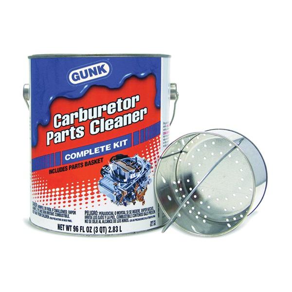 Picture of GUNK CC3K Carburetor Parts Cleaner, 96 fl-oz Package, Pail, Liquid, Aromatic