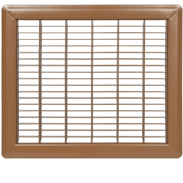 Picture of Imperial RG0690 Air Grille, 12 in L, 14 in W, Steel, Brown