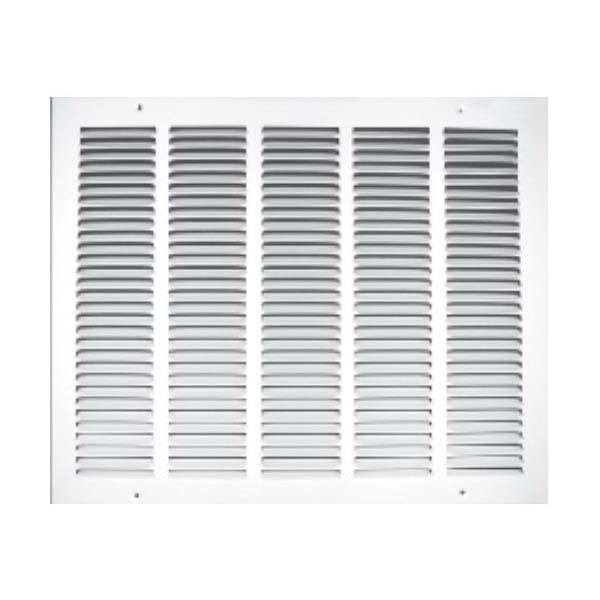 Picture of TRUaire 170 Series 170 10x6 10x6 Stamped Return Air Grille, 7-3/4 in L, 11-3/4 in W, Steel, White, Powder-Coated