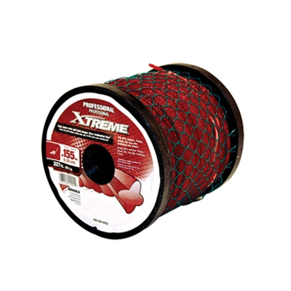 Picture of Arnold Xtreme 490-040-0032 Trimmer Line Spool, 0.155 in Dia, 327 ft L, Polymer, Maroon