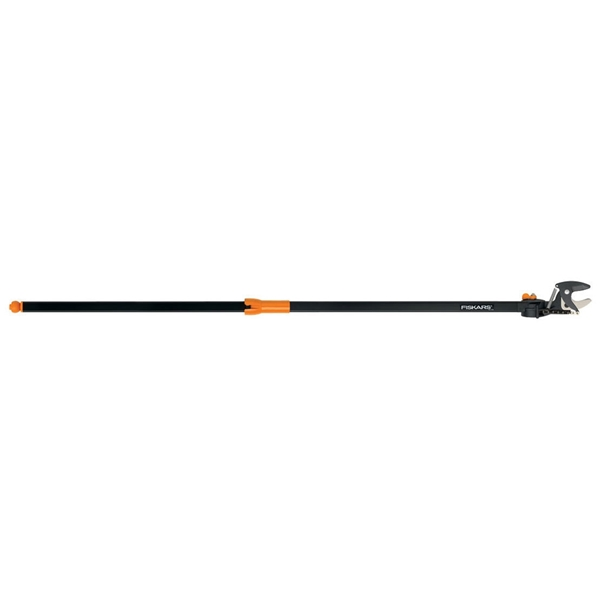 Picture of FISKARS 9234 Pole Pruner, 1-1/4 in Dia Cutting Capacity, Steel Blade, 62 in L Extension