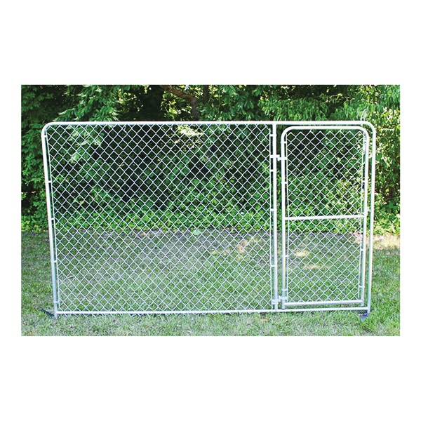 Picture of Stephens Pipe & Steel Silver DKS21006 Gate Panel, Double, Steel, Galvanized